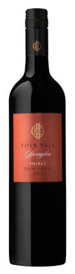 2012 Springton Shiraz Eden Hall