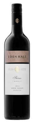 2013 Shiraz Block 4 Eden Hall
