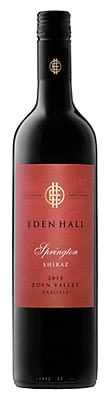 2015 Springton Shiraz Eden Hall Barossa
