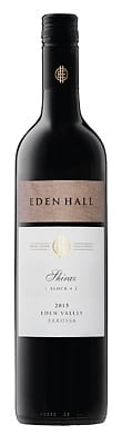 Eden Hall 2015 Block 4 Shiraz